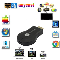 AnyCast M2 Artı Airplay 1080 P Kablosuz WiFi Ekran TV Dongle alıcı ios andriod Tablet için HDMI TV Sopa DLNA Miracast PC