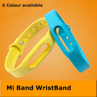 Free Shipping 1:1 Xiaomi Mi Band Wrist Band Wearable Wrist Strap Accessories Silicone For Miband