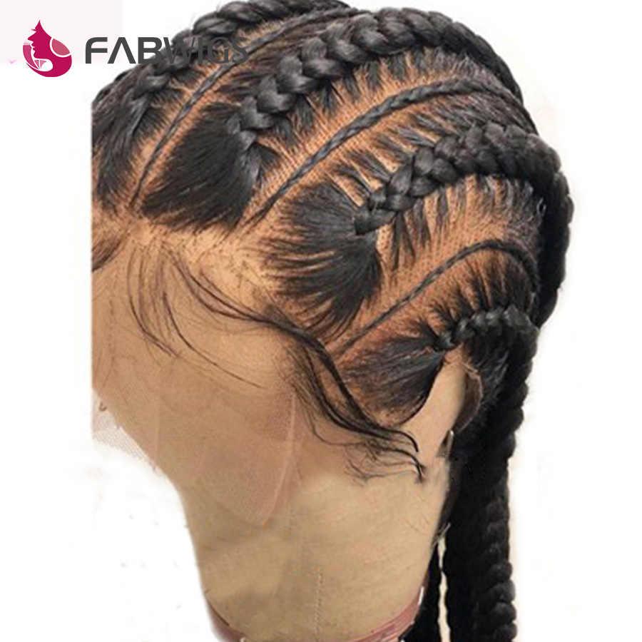 Fabwigs полный парик человеческих волос шнурка предварительно сорвал с детскими волосами бесклеевой полный парик шнурка малазийские прямые волосы Реми парики для женщин
