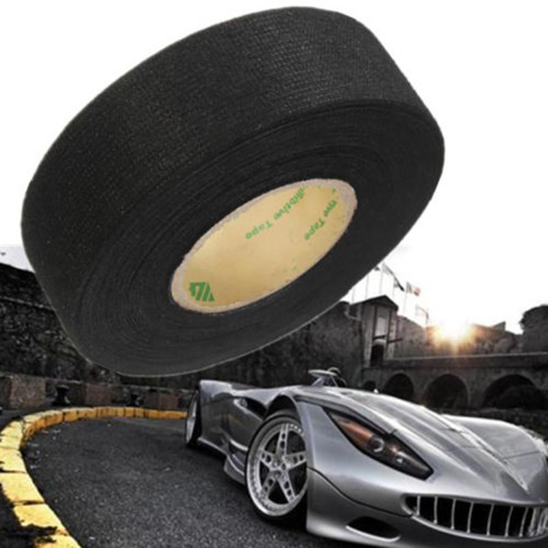 15m Car Vehicle Wiring Harness Noise Sound Insulation Adhesive Felt Tape Black Car styling Accessories aliexpress com buy 15m car vehicle wiring harness noise sound car wiring harness manufacturer uk at virtualis.co