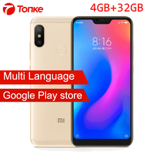 Global Firmware Xiaomi phone Redmi 6 Pro 6Pro 4GB RAM 32GB ROM 5.84'' Display Snapdragon 625 Octa Core AI Dual Cameras 4000mAh(China)