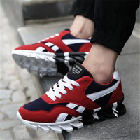 Beinuolvtu Popular Mens Sneakers Spring Autumn Men Sports Shoes Trainers Suede Sneakers Athletic Shoes Running Shoes