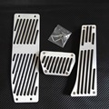 Non-drilling Accessories For BMW E46 E82 E92 E60 E90 F10 F11 F15 E70 X5 X6 AT Automatic Pedal Pedales Sticker AC SCHNITZER Logo