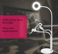 Mobile phone stents Fill in light,Suitable for desk lamp.Clip lamp,sill in light,phonr stents,freeshipping