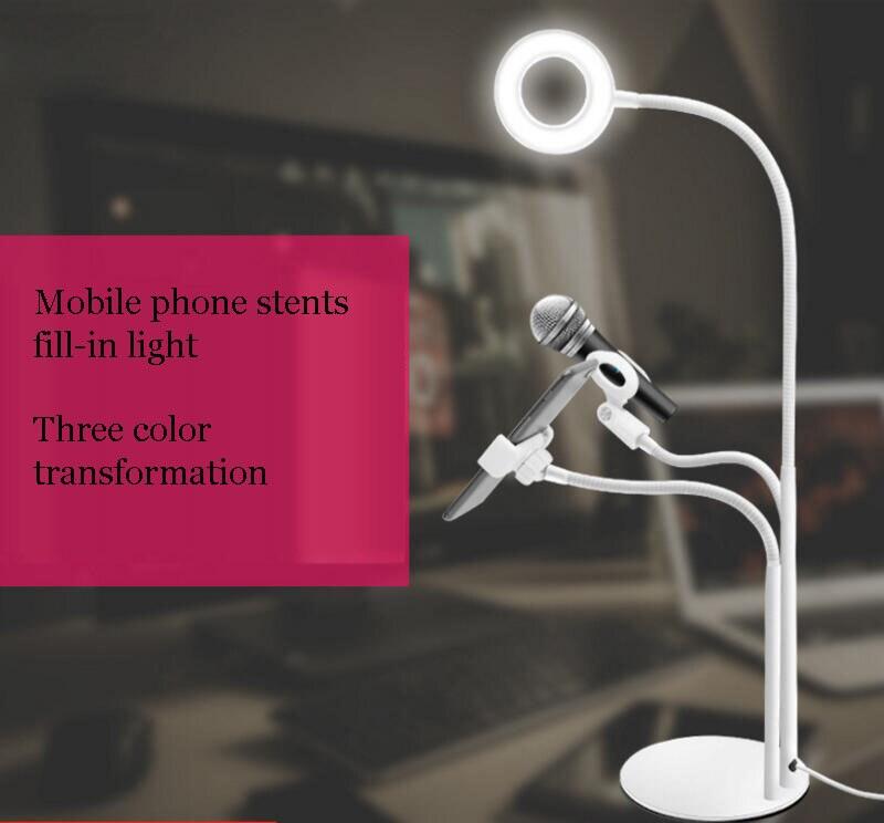 stents telefone movel fill in light apropriado para a lampada de mesa lampada clipe peitoril em