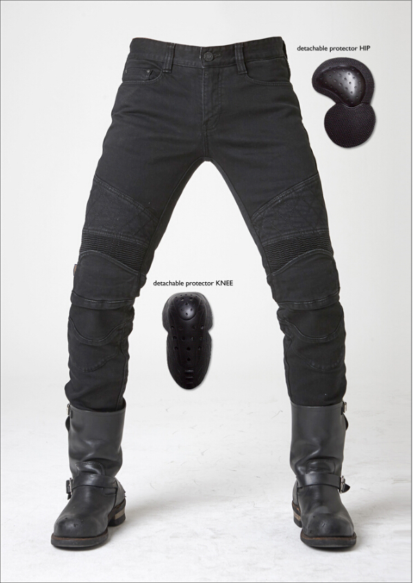 newest uglyBROS ton up pants Motorcycle jeans Road motorcycle riding jeans four sets of protective gear man pants