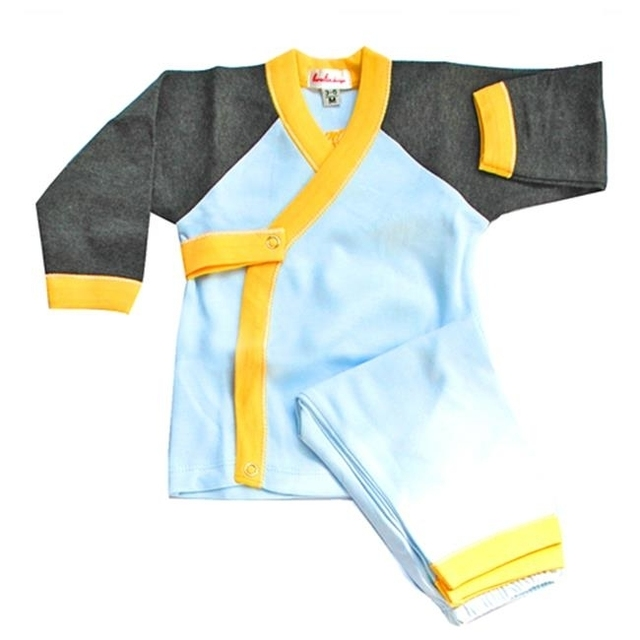 Loralin Design BWH3 Boy Wrap Outfit 3-6 Months