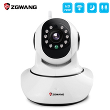 hot deal buy zgwang hd 720p wireless home security wifi ip camera network night vision camera  surveillance alarm cctv camera wholesale price