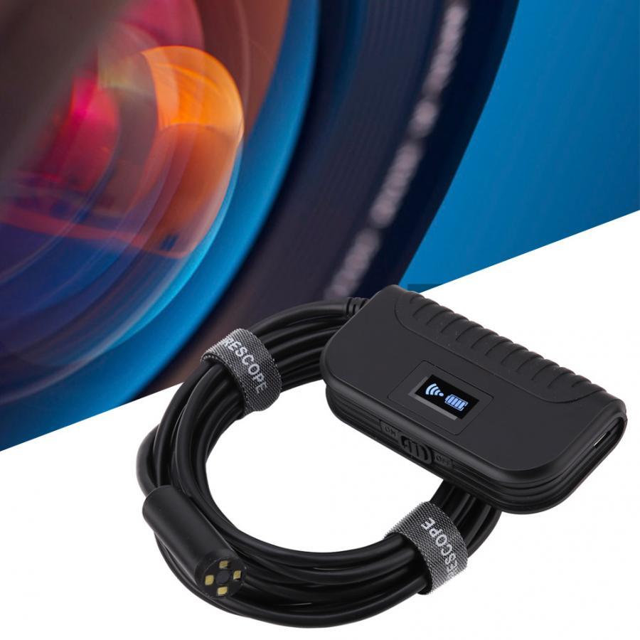 Auto Focus WiFi Endoscope 2592x1944 Waterproof Inspection Borescope Snake Camera Cable endoscope camera 3 5m