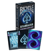 Bicycle Stargazer Deck Poker Size Standard Playing Cards Magic Cards Magic Props Close Up Magic Tricks for Professional(China)