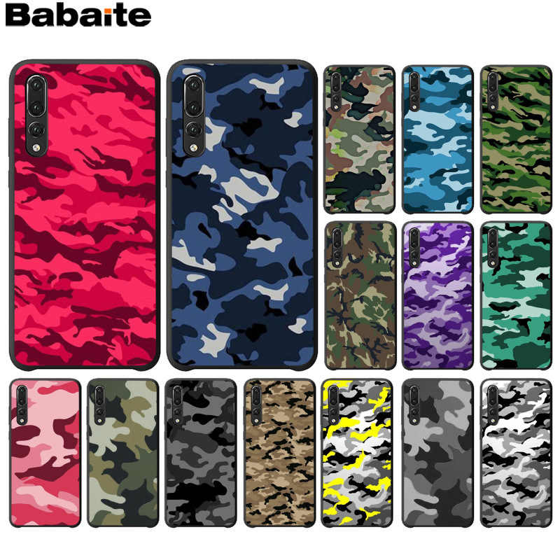 Babaite Camouflage Pattern Camo military Army Phone Cover for Huawei P10 plus 20 pro P20 lite mate9 10 lite honor 10 view10