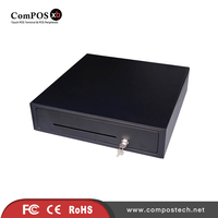 Cash Register Drawer POS Cash Drawer Five grids three section of the cashbox with RJ11 interface