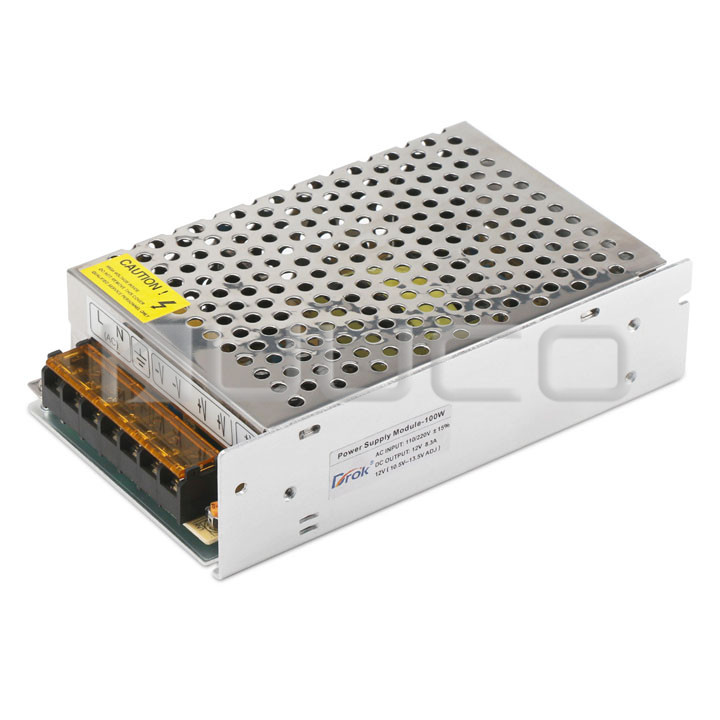 100W Switching Power Supply AC110~220V to DC 12V 8.5A Buck Converter/Voltage Regulator DC 12V Adapter/Power Supply Module/Driver 10pcs 5 40v to 1 2 35v 300w 9a dc dc buck step down converter dc dc power supply module adjustable voltage regulator led driver