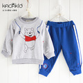 kacakid Autumn Cotoon Charachter Long Sleeve Toddler Baby Boys Clothes Tracksuit Outfit Clothing Set Costume
