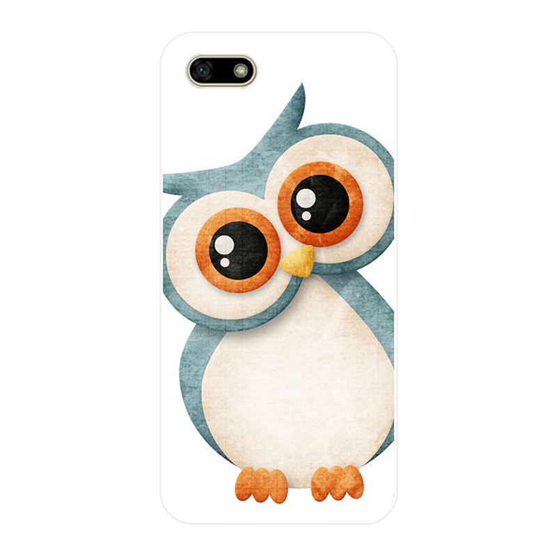 172H Cute Owl Hearts Lover Christmas Soft Silicone Tpu Cover Case For Huawei Honor 7A Pro 7X Play Case