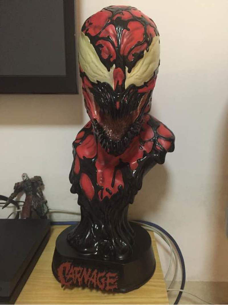 Spiderman Bust Anime Figure Venom Action Figure Statue 1:1 Mode Collection Avengers Super Hero DollsSpiderman Bust Anime Figure Venom Action Figure Statue 1:1 Mode Collection Avengers Super Hero Dolls