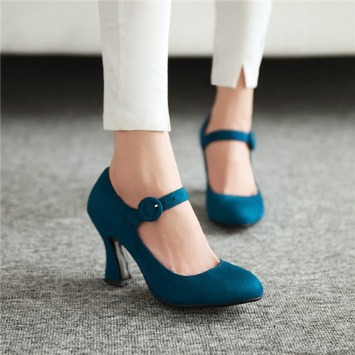 Aliexpress.com : Buy PXELENA Retro Elegant Womens Mary Janes ...