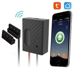 EACHEN WiFi inteligentny garaż w domu otwieracz do drzwi bezprzewodowy pilot działa z aplikacją TUYA SmartLife Alexa Google Home IFTTT GD-DC5