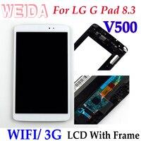 Weida lcd substituição 8.3