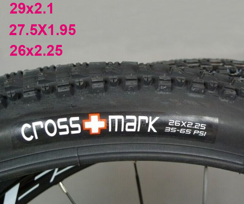 Vélo de Montagne De Pneus VTT Vélo pneu 26/27. 5/29er x 1.95/2.1/2.25 65TPI pneu bicicleta CROSSMARK pièces