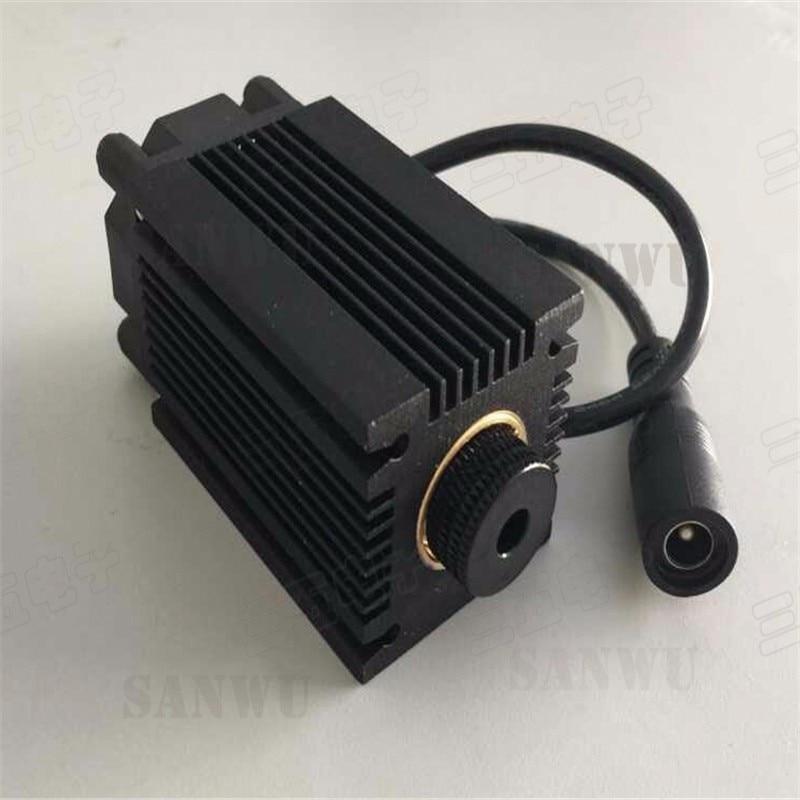 Real 500 mw 445 Focusable 300nm blue laser diode module High Power Laser engraving machine TT L DIY CNC adjustFree shipping цена