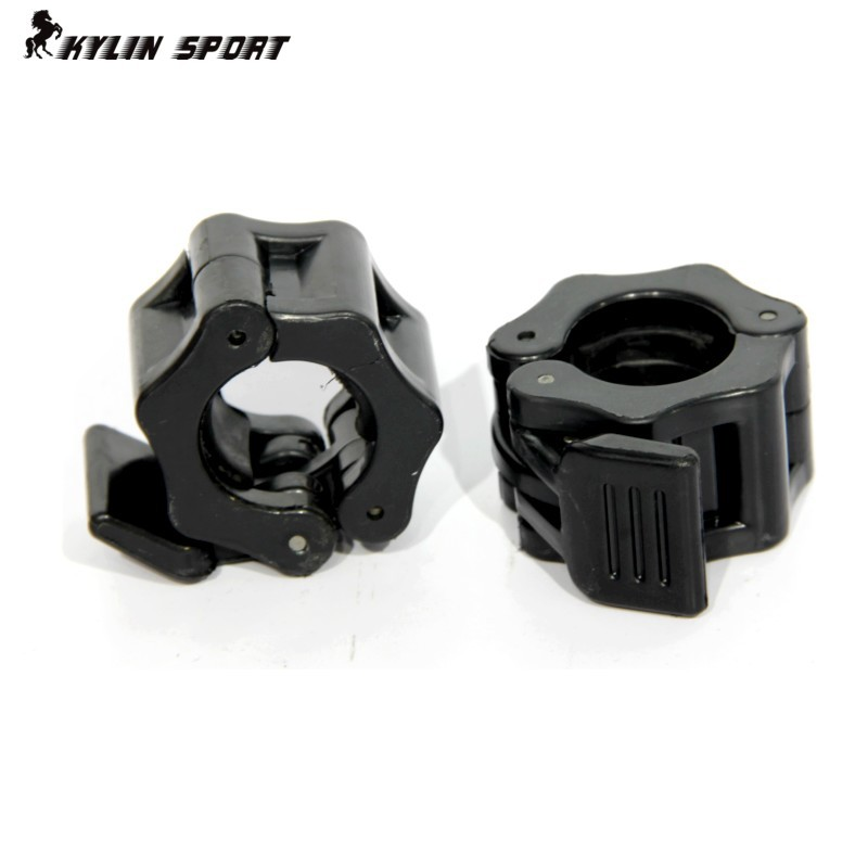 Fitness Equipment Weightlifting Dumbbell Accessories Barbell Pole Weight Plate Small Plastic Buckle Security For Freeshipping ...