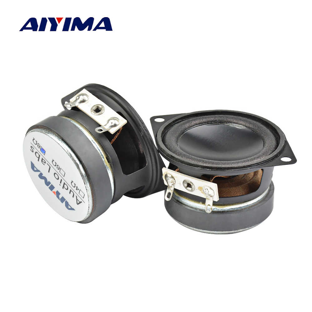 aiyima 2pcs 2 inch audio speaker 8 ohm 12 w full range alto woofer mini loudspeaker [ 1000 x 1000 Pixel ]