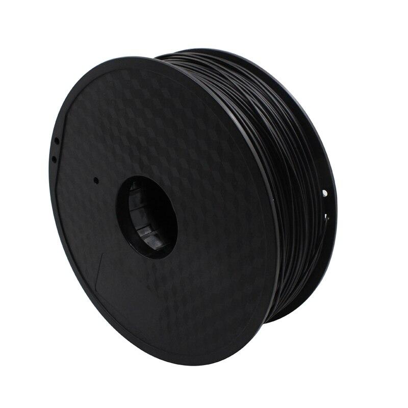 1 kg Imprimante 3D Matériel 1.75mm 30% Fiber De Carbone PLA Filament RepRap/Makerbot/Ultimaker/Mendel/kossel/creatbot, etc Ventes 3D STYLO