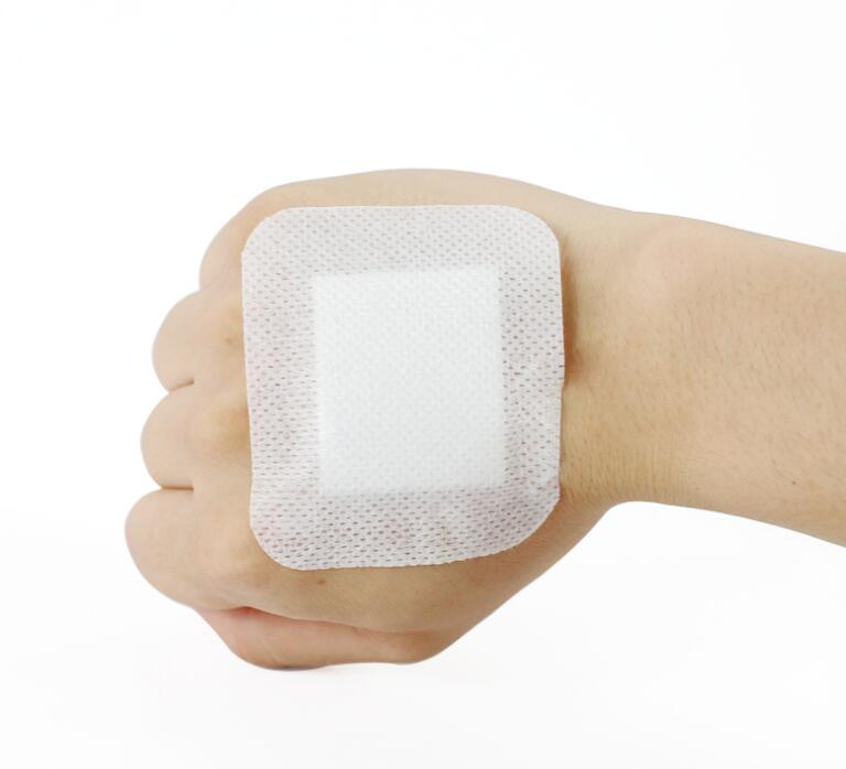 10Pcs 6*7cm Non-woven Medical Adhesive Wound Band Aid Bandage Large Wound First Aid