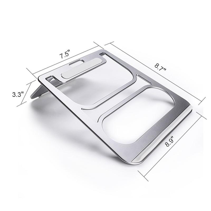 Portabil suport din aluminiu pentru laptop Stand pentru tablete de - Materiale școlare și educaționale - Fotografie 5