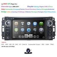Car Radio for Jeep Wranger Commander Compass Grand Cherokee GPS Car DVD Caliber,Challenger,Dakota,grand cherokee2005 2011 Camera