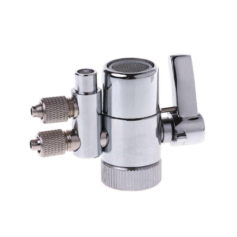 Water Filter Faucet Dual Diverter Valve M22 To 1/4