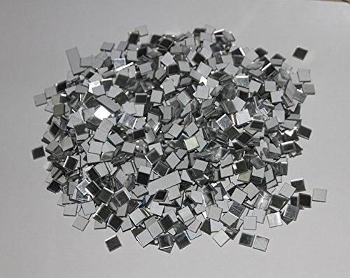 1000 Stücke 1x1 Cm Mosaik Quadratischen Spiegel Aufkleber, Wandspiegel Aufkleber, Diy Handwerk & Scrapbooking Zubehör