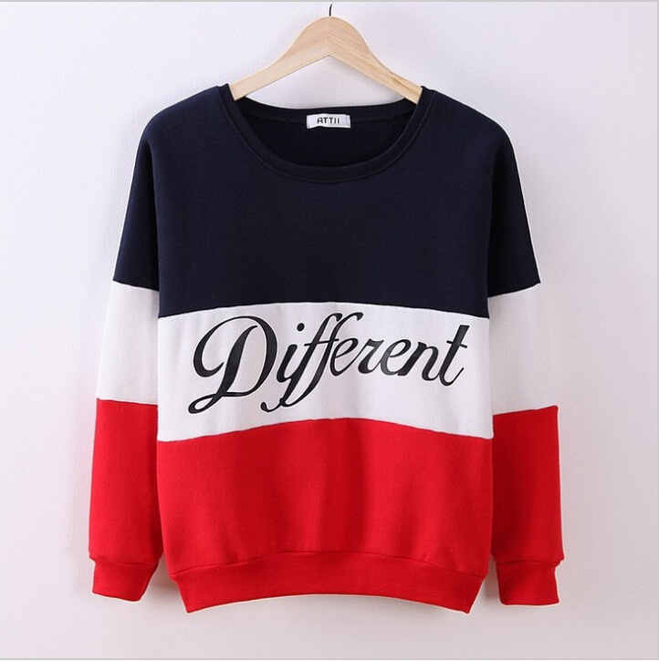 Women autumn winter o neck long sleeve tops bloues lady letter print casual leisure street style brand blouse tops