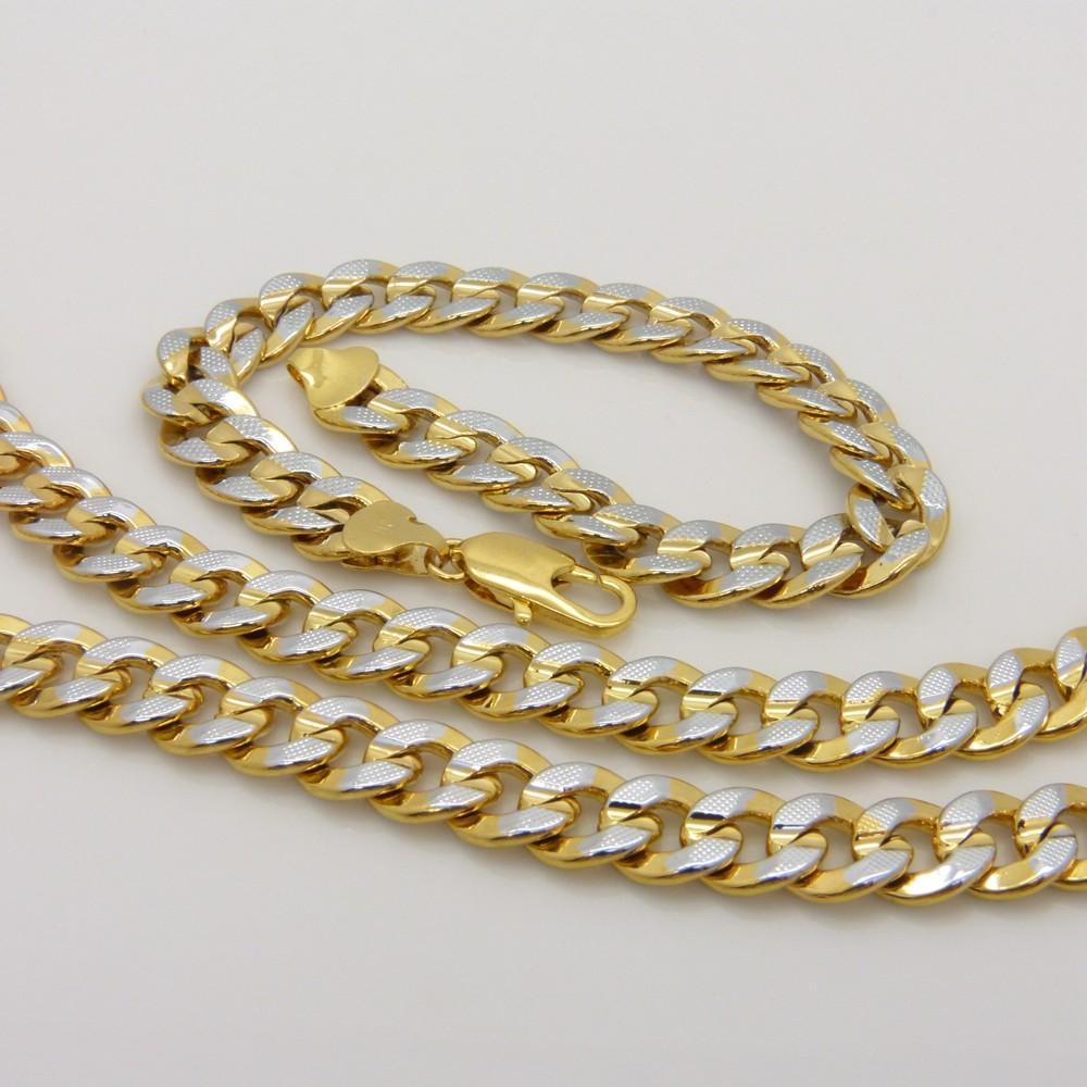 Снаряженная набор ювелирных изделий Золотое заполненное мужское