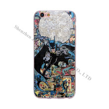 Comic Book Phone Cases iPhone 6 6S 5 5S SE 7 Plus