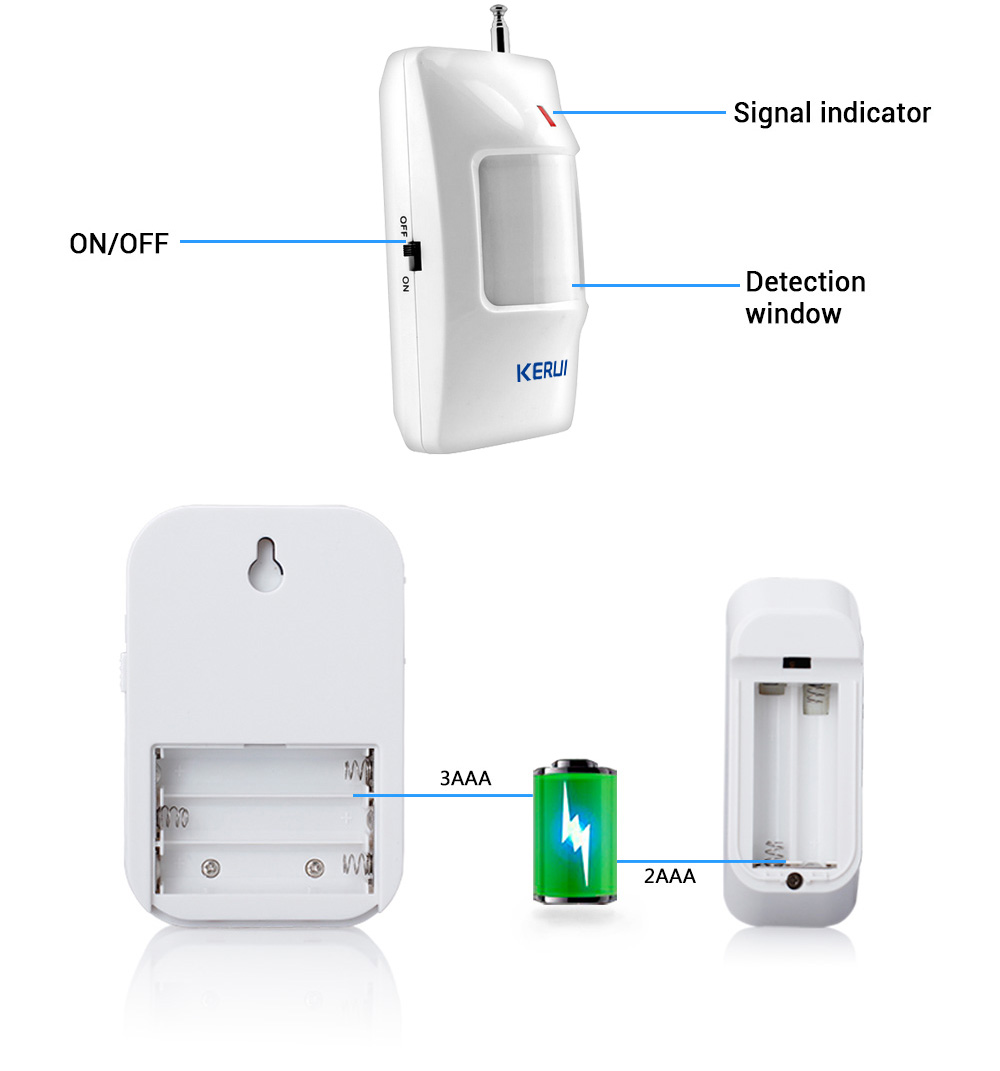 PIR Motion detector Sensor Doorbell