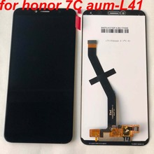 Original 5.7 polegada para huawei honor 7c aum L41 Aum L41 display lcd tela de toque digitador assembléia para huawei atu lx1/l21 + quadro