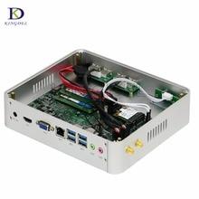 3 лет гарантии Настольный Компьютер Skylake Mini ITX Windows 10 Микро pc intel core i5 6360u intel iris graphics 540 неттоп pc