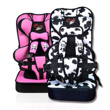 цена на Simple Child Safety Seat Portable Car with Car Increased 0-12 Years Old Baby Baby Seat Belt 0 To 4 Free Shipping