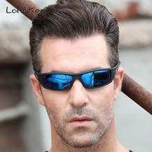 LongKeeper Polarized Sunglasses Women Square Brand Designer Sun Glasses Men Anti-glare Black Driving Eyeglasses Gafas 1039