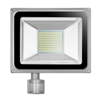 100W 220V 240V LED Flood Light 11000LM IP65 PIR Motion Sensor LED Floodlight Reflector LED Spotlight