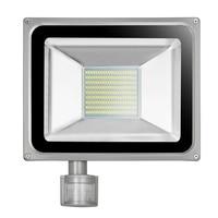 100 Wát 220 V-240 V LED Flood Light 11000LM IP65 PIR Cảm Biến Chuyển Động DẪN Đèn Pha Phản Xạ LED Spotlight đèn Cho Chiếu Sáng Ngoài Trời