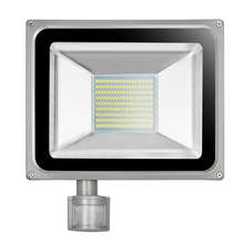 100W 220V-240V LED Flood Light 11000LM IP65 PIR Motion Sensor LED Floodlight Reflector LED Spotlight Lamp For Outdoor Lighting