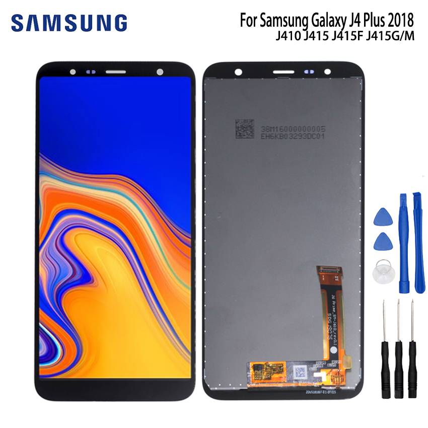 Original For Samsung Galaxy J4 Plus 2018 LCD J415 LCD Display For Samsung J415F J415FN J415G LCD Screen Touch Digitizer AssemblyOriginal For Samsung Galaxy J4 Plus 2018 LCD J415 LCD Display For Samsung J415F J415FN J415G LCD Screen Touch Digitizer Assembly