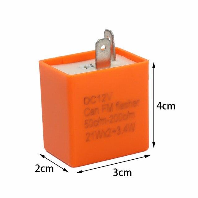 Clignotant clignotant Led réglable 12v | Pour Yamaha Tt 225 250 250r 350 600r Wr 600 200r 250f 400f, nouvelle collection