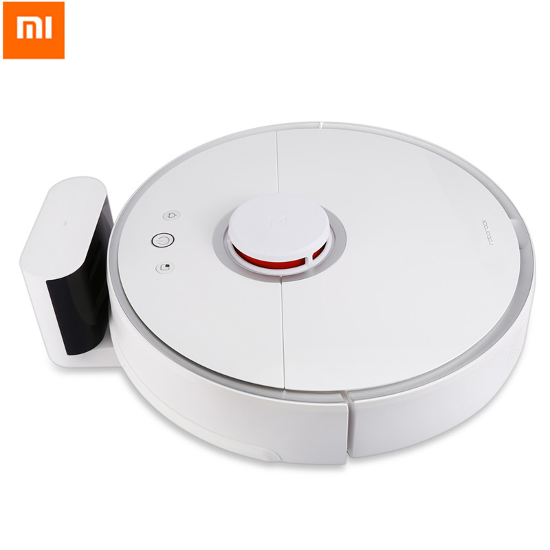Xiaomi Roborock S50 Smart Vacuum Cleaner 2nd Generation Robot Cleaner Intelligent Sensor System Path Planning International Ver