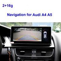 2G RAM 16G ROM головного устройства Стерео электронный Системы для Audi A4 A5 2009 2016 с Audi концерт/Симфония радио