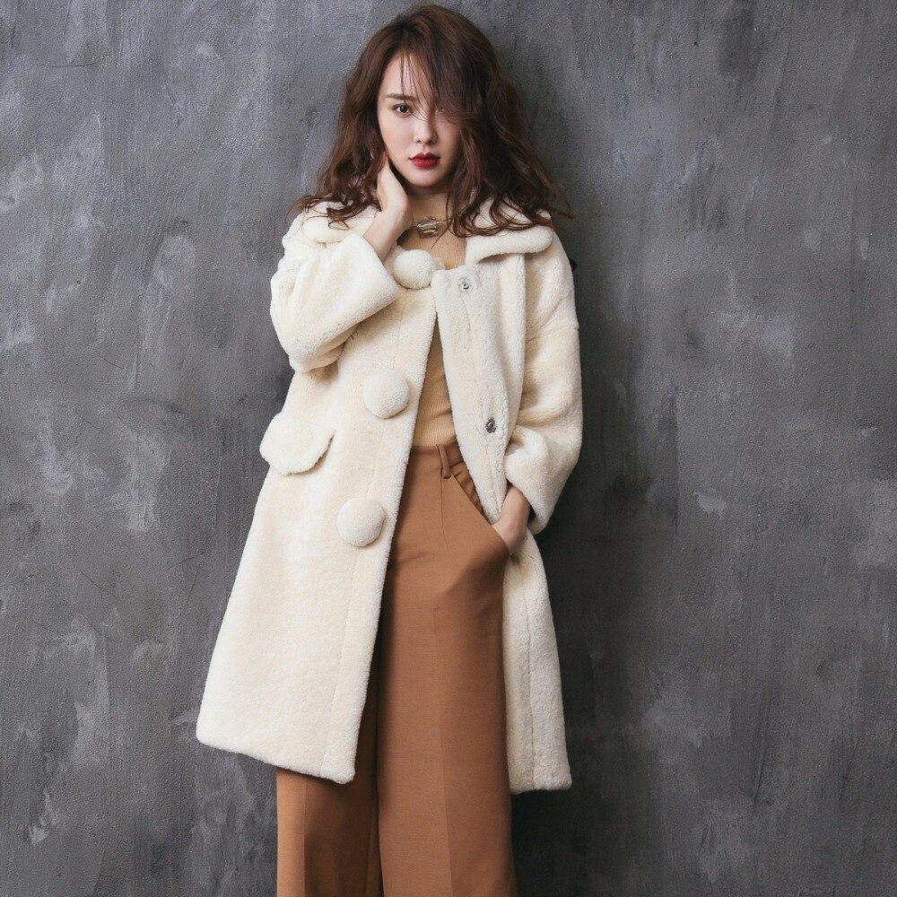 Popular Fur Sheepskin Coat-Buy Cheap Fur Sheepskin Coat lots from ...