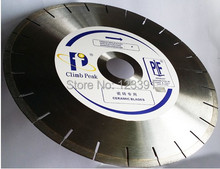 Promotion sale of professional grade diamond saw blade 350*50/30/25.4*10mm for sharp cutting tiles,floor tiles,vitrified tiles